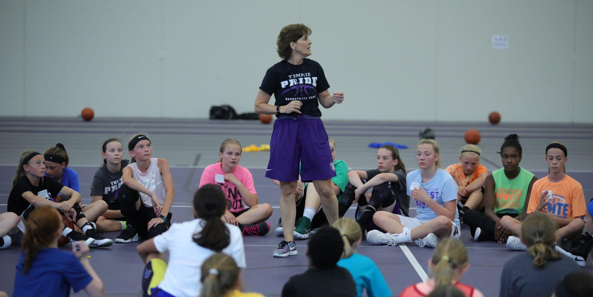 Tommie Pride Basketball Camps-Coach Ruth Sinn
